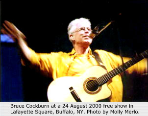 Cockburn in 2000. Photo by Molly Merlo.