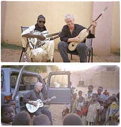 Images of Bruce Cockburn in Mali