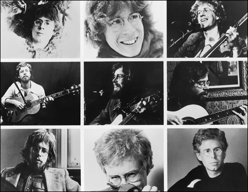 Bruce Cockburn PR Collage by Goldmine