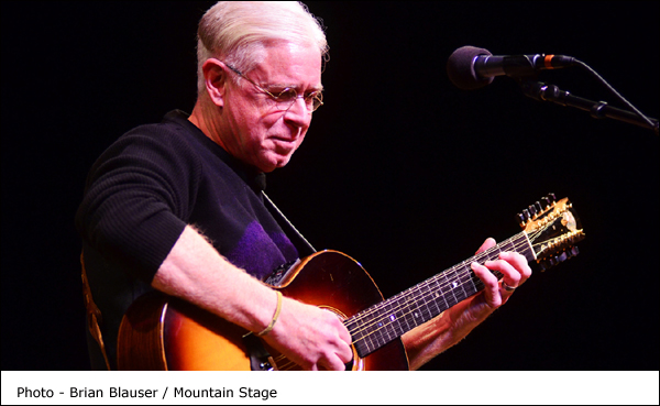 Bruce Cockburn performing on Mountain Stage Photo by Brian Blauser